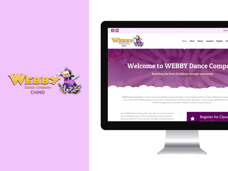 Web Designer for Dance Studio