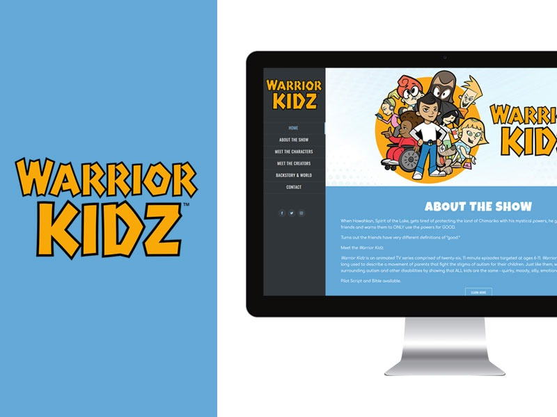 Web Designer for Cartoon Company