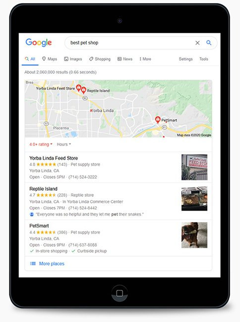 Google My Business Optimization Services