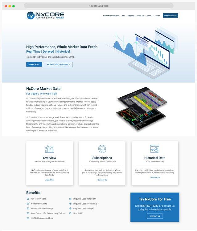 Forex Trading Website Designer
