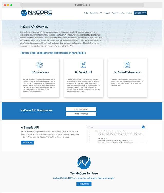 Market Data Web Design Company