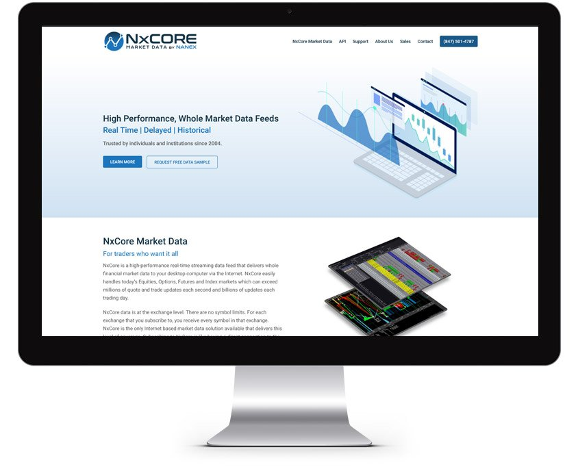 Stock Trading Web Design Company
